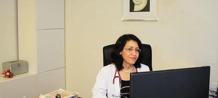 Das Team der Praxis für innere Medizin Mashoufi